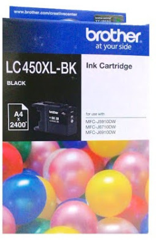 Brother LC450 Single Color Ink(Black)