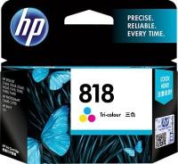 HP 818 Tri Color Ink Cartridge(Black, Magenta, Cyan, Yellow)
