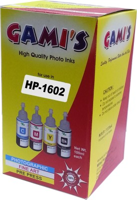 DDS All HP Ink DESK Jet Printer GT 5810,GT5820 7288,5188,6188,3188.GT-51/GT/52100ml Multicolor Ink