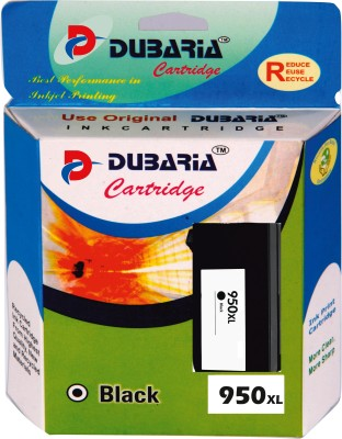 Dubaria 950xl / Cn045zz Cartridge - Hp Compatible For Use In Use In Officejet Pro 276dw ,8600 E, 8600 Plus ,8610,8620 ,251dw, 8100 , 8630 Black Ink