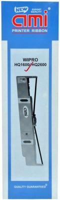 Ami Hq1600 Printer Ribbon For Use In Wipro Hq 1600/2600 Black Toner