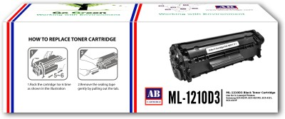 AB Cartridge Compatible 1210 / ML 1210D3 Cartridge - For use In Samsung ML-1210, 1220M, 1250, ML-1430 Black Toner