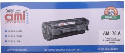 Ami 78A Toner for use in HP P1606/1566/1560/1536 Black Toner