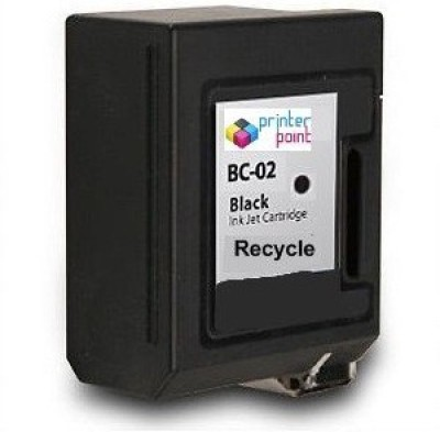 Max Bc-02 Recycle Ink Cartridge For Canon Prefilled Black Ink