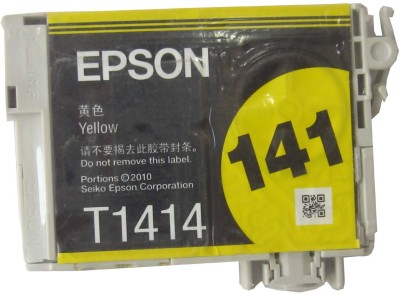 Epson 141(T1414) Original Ink Cartridge Valuable Pack Yellow Ink