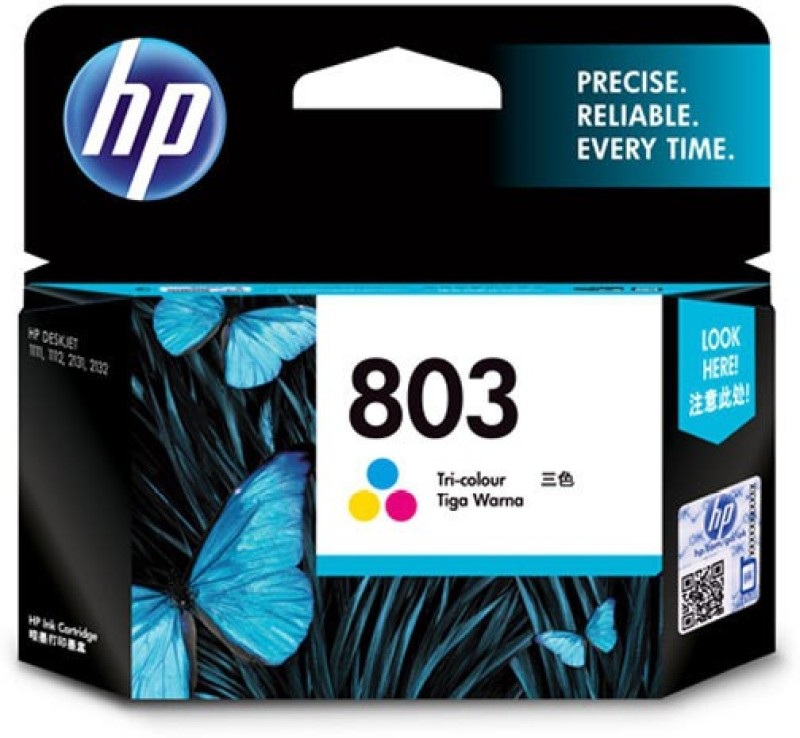 HP 803 Multi Color Ink(Magenta, Cyan, Yellow)