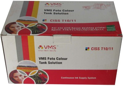VMS CISS T10(73N) For EPSON T10/T11/T21/TX110/TX111 with Multicolor Ink