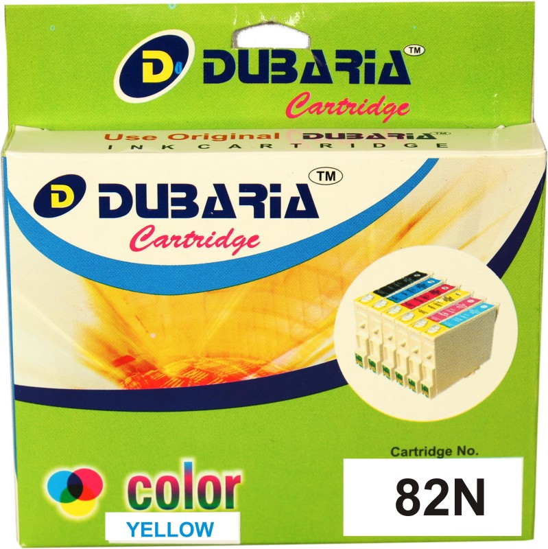 Dubaria 82N Single Color Ink(Yellow)