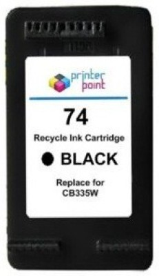Max 74 Recycle Cartridge BLACK for HP Prefilled Black Ink