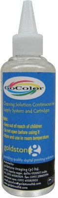 GoColor Head Cleaning Solution Liquid 100 ml for Epson Printer White Ink