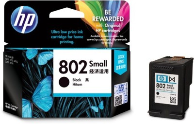 HP HP 802 Single Color Ink(Black)
