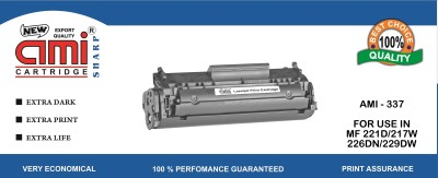 Ami 337 Compataible Toner Cartridge for use in Canon MF 221D/MF 217W/MF 226DN/MF 229DW Black Toner
