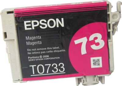 Epson Cartridge 73 (T1053) Original Magenta Ink