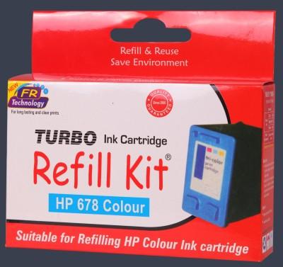 Turbo HP 678 Color Multicolor Ink