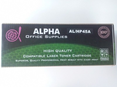 Alpha Corporation HP 45A Black / Q5945A Black Toner