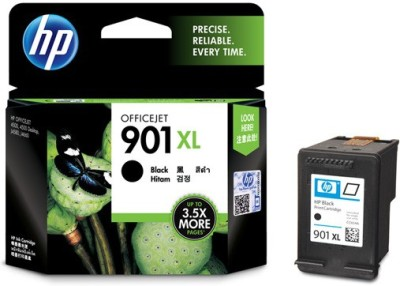 HP 901XL Black Officejet Ink Cartridge(Black)