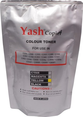 Yash Copier Color Yellow Toner 224e, 284e, 364e, 454e, 554e Yellow Toner