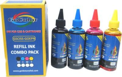 GoColor Premium Korean Quality Epson Compatible Inkjet 100 ml Cyan Ink
