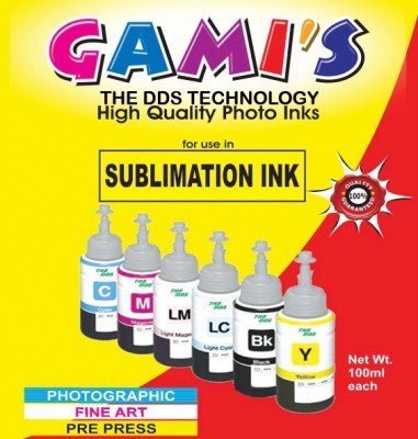 DDS 6 Color Professional Sublimation Refill Ink For Epson Printer Multicolor Ink