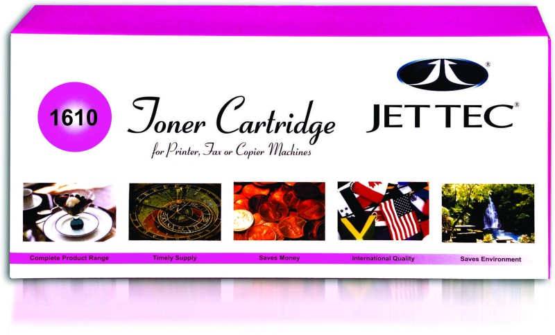 Jettec 1610 Single Color Toner(Black)