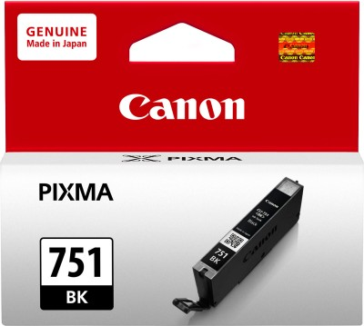 Canon CLI751BK Black Ink Catridge(Black)