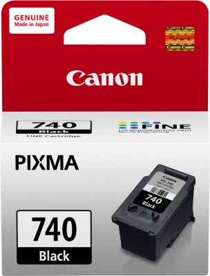 Canon PG740 Black Ink Catridge(Black)