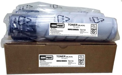 Abhi Print AP/R0108/TN118 Black Toner