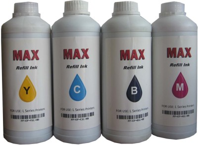 Max 4*1000ML Set For Brother Printer Multicolor Ink
