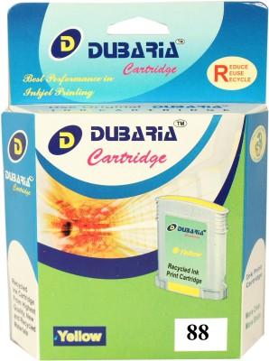 Dubaria 88XL / C9393AN Cartridge - HP Compatible For Use In L7480,L7400,L7500,L7550,L7555,L7580 ,K5400,K8600,L7580,L7590,L7600,L7700 Yellow Ink