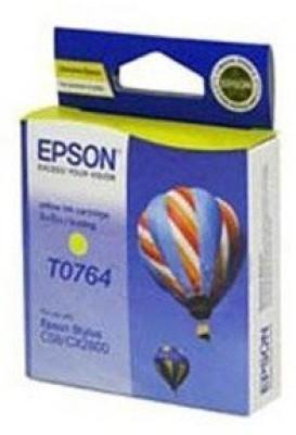Epson Cartridge T0764 Original Yellow Ink