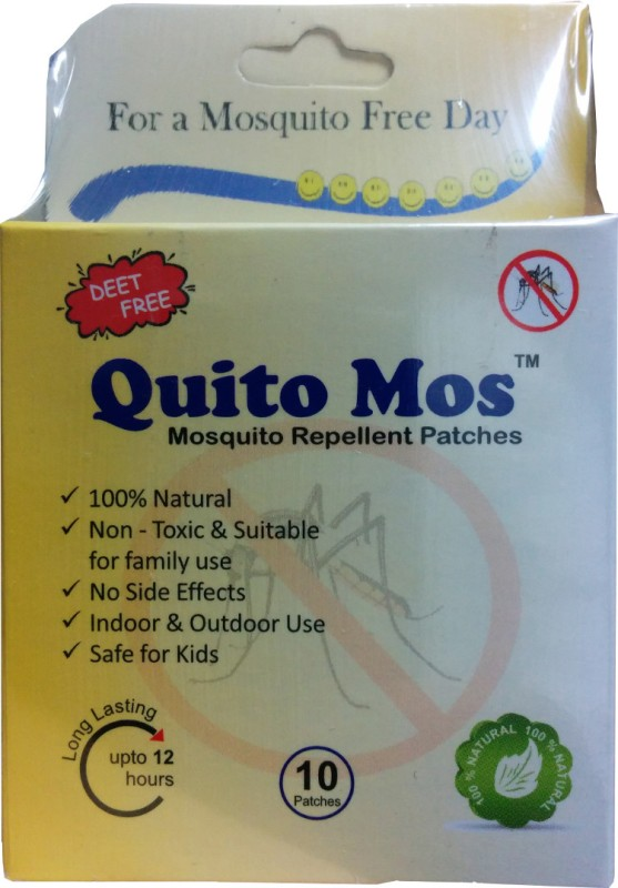 Quito Mos Mosquito Repellent Patch(Pack of 30)