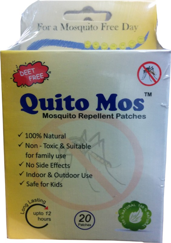 Quito Mos Mosquito Repellent Patch(Pack of 60)