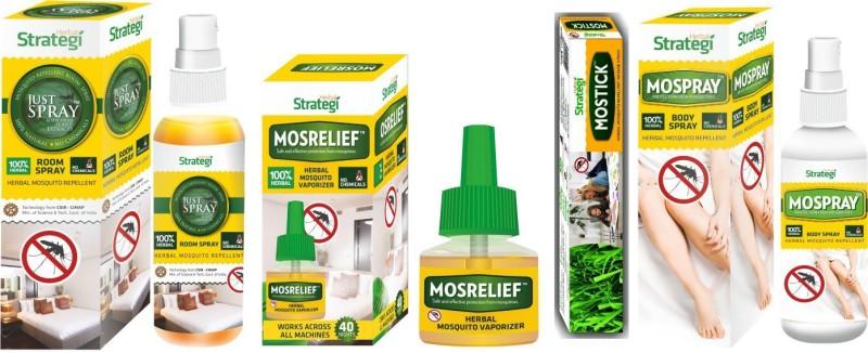 Herbal Strategi Mosquito Hamper(Pack of 4)