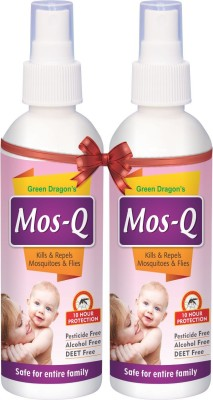 green dragon mosquito repellent spray pack of 2