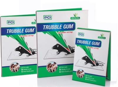 Trouble Gum 3 PIECE MOUSE GLUE PAD KILL RAT & MOUSE WITHOUT POISONS