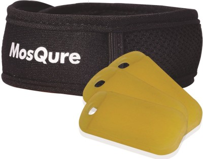 MosQure Mosquito Bite Prevention Band (1 Band + 3 refills)(Pack of 4)
