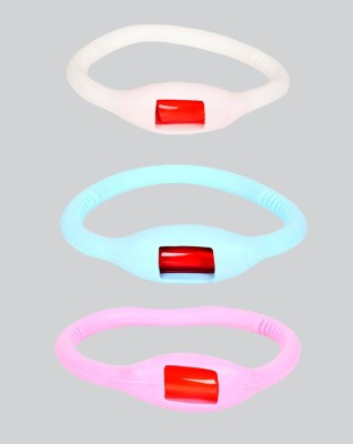 Safe-O-Kid Reusable Flexi Mosquito Repellant Band - 3 Bands+3 Refills+3 Air Tight Pouch(Pack of 3)