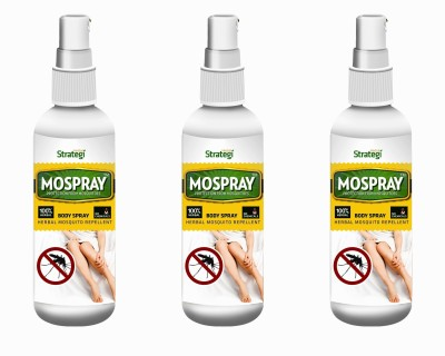 Herbal Strategi Mospray(Pack of 3)