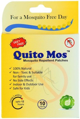 Quito Mos Mosquito Repellent Patch (Pack of 20)