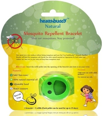 Healthbuddy Natural Mosquito Repellent Bracelet Green