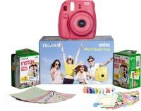 Fujifilm Instax Mini 8 - Bundle Pack Instant Camera(Pink)