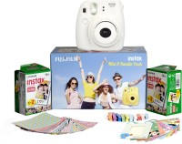 Fujifilm Instax Mini 8 - Bundle Pack Instant Camera(White)
