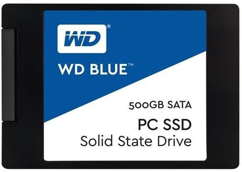View WD Blue PC 500 GB Desktop, Laptop Internal Solid State Drive (WDS500G1B0A) Price Online(WD)