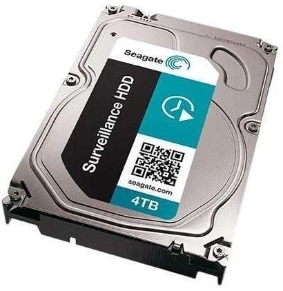 View Seagate Surveillance HDD 4 TB Desktop Internal Hard Drive (ST4000VX000) Price Online(Seagate)