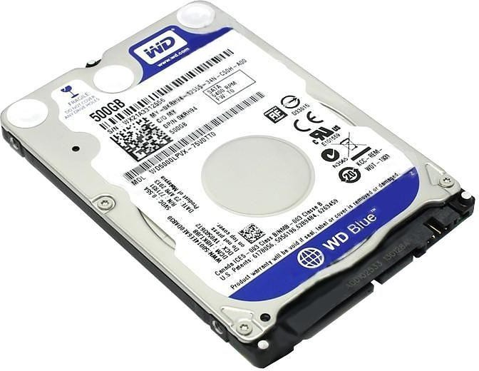 View WD 500 GB Laptop Internal Hard Disk Drive (WD5000LPCX) Price Online(WD)