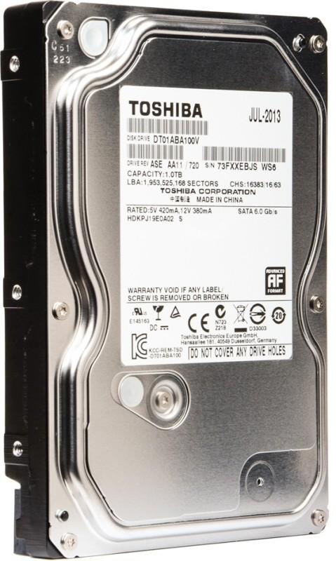 Toshiba AV 1 TB Desktop Internal Hard Disk Drive (DT01ABA100V)