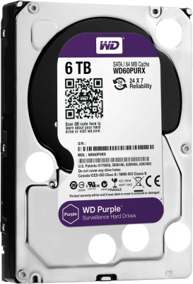 WD WD60PURX 6TB SATA Internal Hard Drive