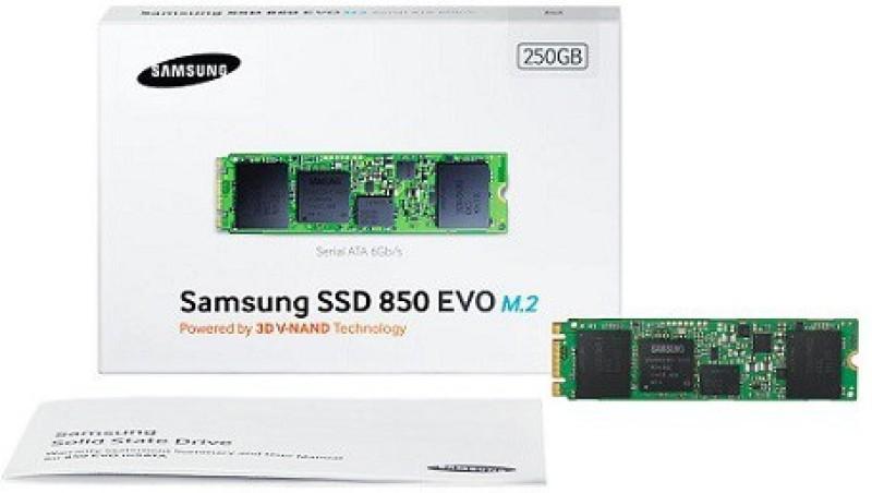 SAMSUNG M.2 Series 250 GB Laptop Internal Hard Drive (SSD M.2 Sata MZ-N5E250BW)