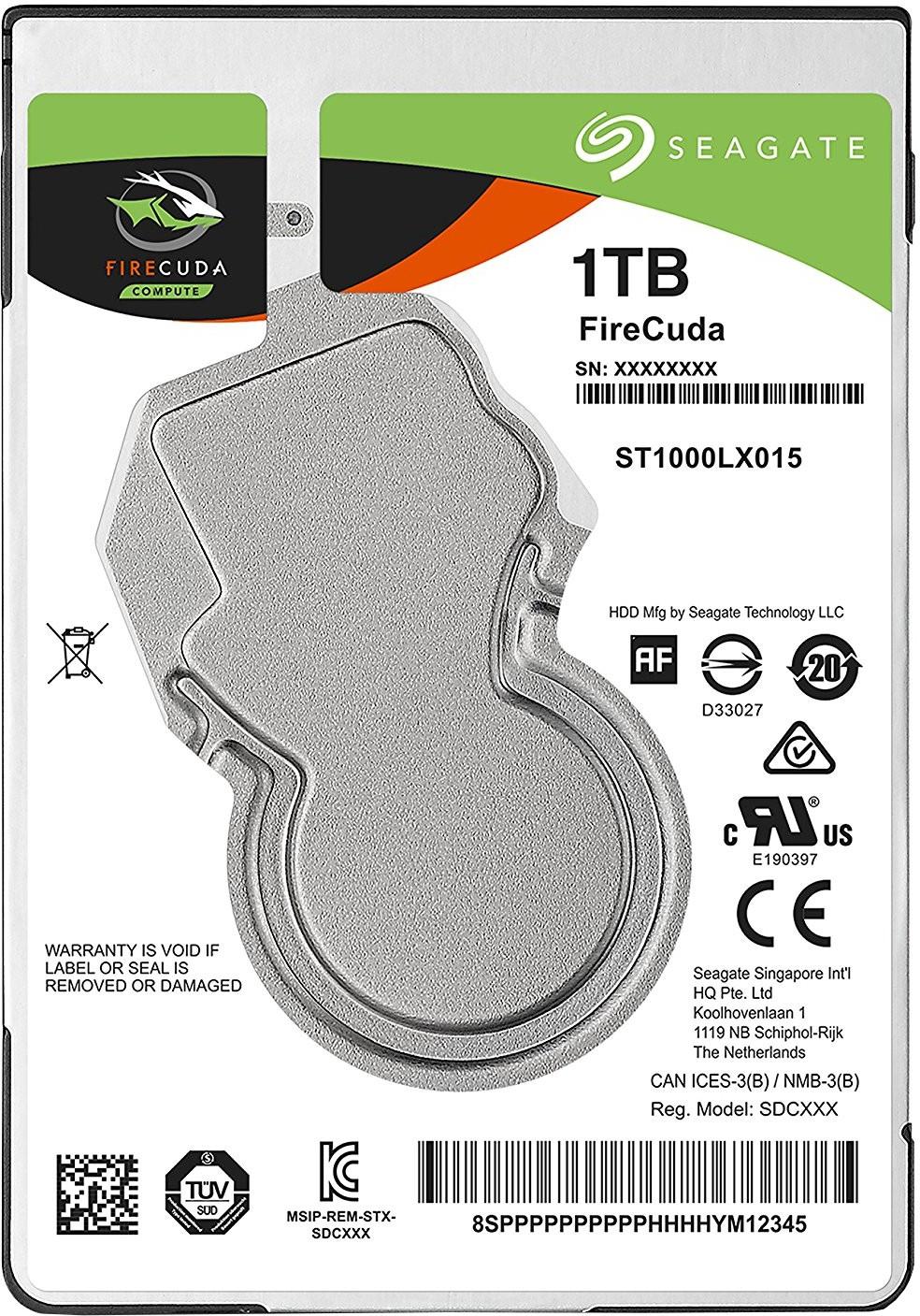 Seagate FireCuda 1 TB Desktop, Surveillance Systems, All in One PCs, Servers Internal Hard Disk Drive (ST1000LX015)