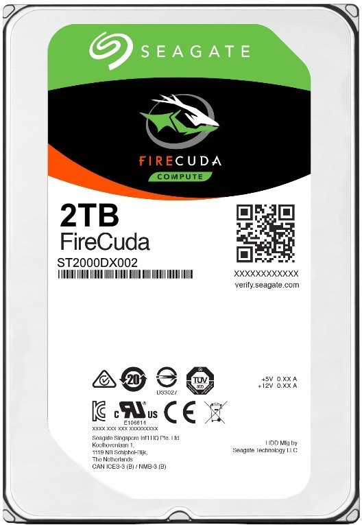 Seagate FireCuda 2 TB Desktop, Surveillance Systems, All in One PCs, Servers Internal Hard Disk Drive (ST2000DX002)